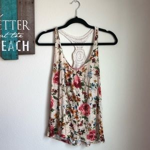 Poetry•Knitted Floral Tank Top